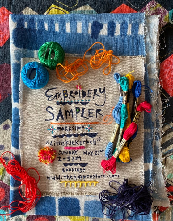 """Image of Botanical Dyeing and stitching retreat at 'Littlekickerbell"""" with Cath May 22nd and 23rd"""