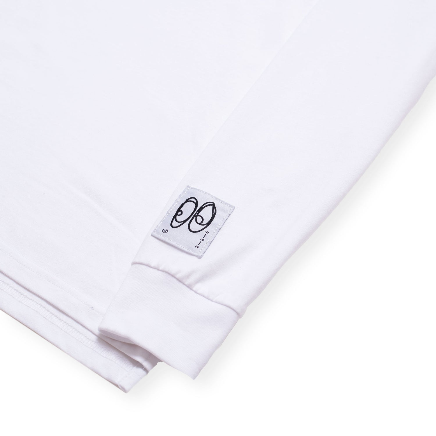 Image of S.O.L Long Sleeve Tee - Bright White