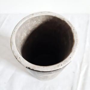 Vase en céramique visage ethnique S 20cm