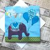 Baby Boy Elephant card