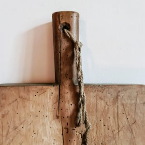 Ancienne planche à découper 55 cm x 27 cm