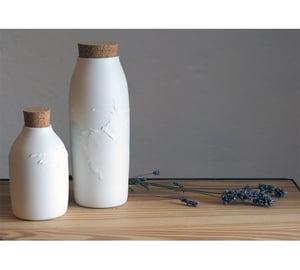Image of Rachel Lopes - Vase et Bouteille Porcelaine - GM