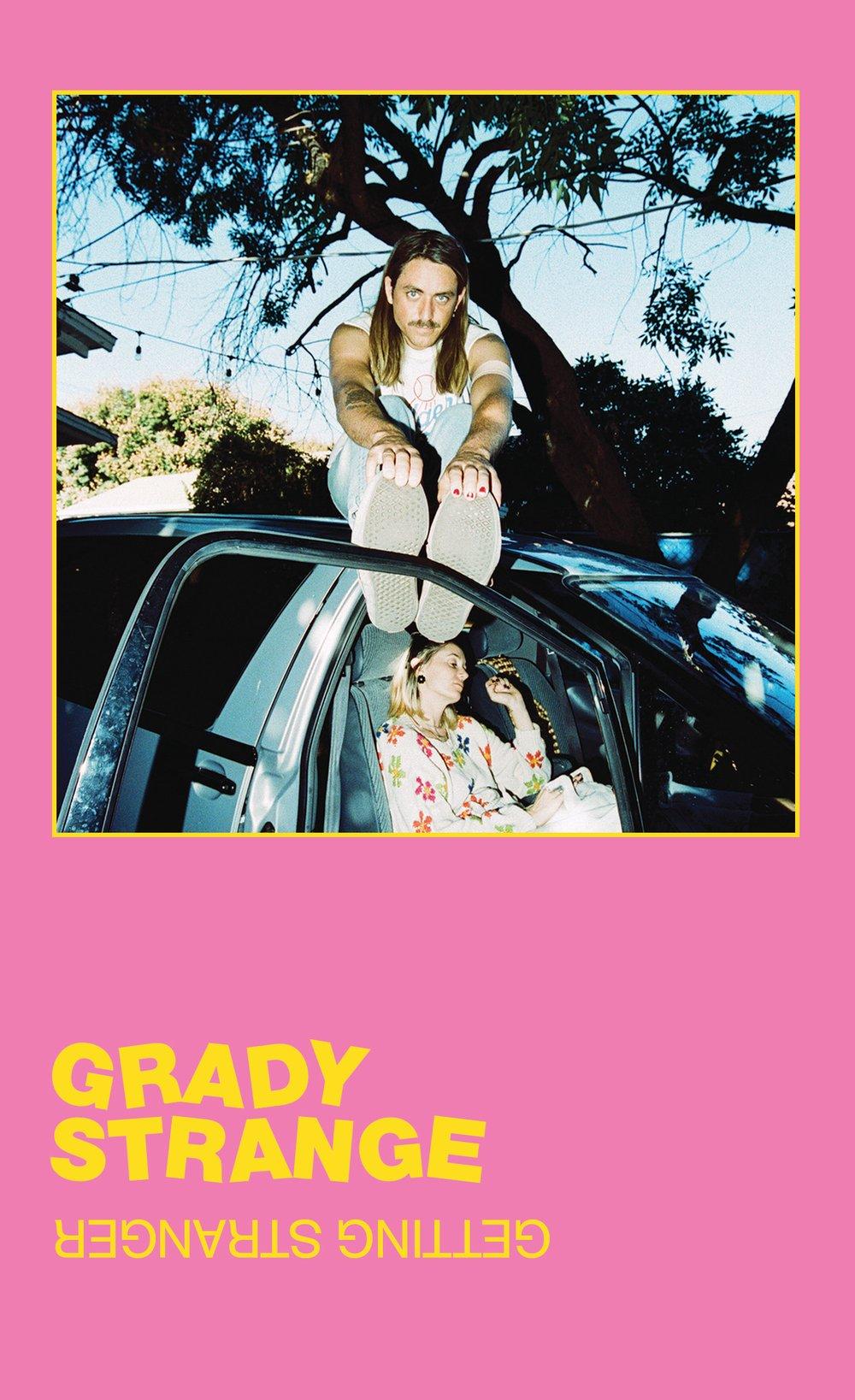 """""""Getting Stranger"""" Cassette by Grady Strange"""