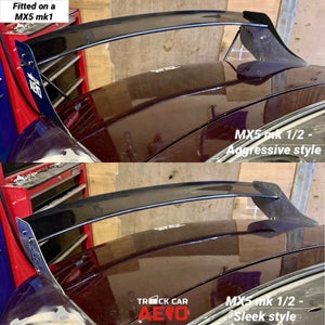 "Image of Mazda MX5 Spoiler ""Sleek"" or ""Aggressive"""