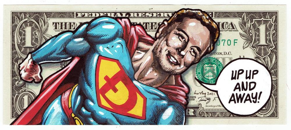 Image of Real Dollar Original. Dogeman.