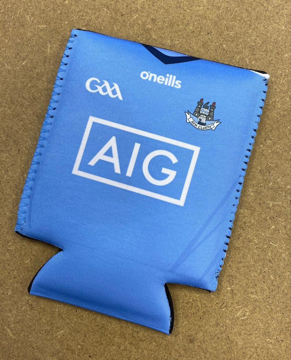 Blue Dublin Can Cooler Sleeve