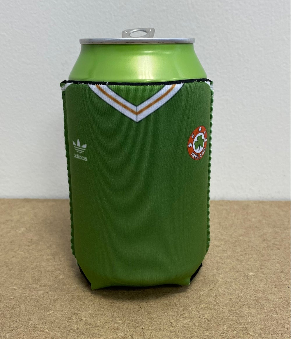 Italia 90 Home Jersey Can Cooler Sleeve