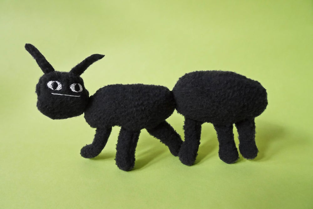 Image of Soft Sculpture Beastie - Ant