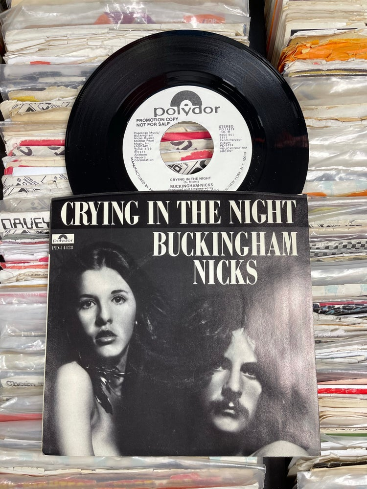 Image of Buckingham Nicks-Crying In The Night   WLP deadstock 7""