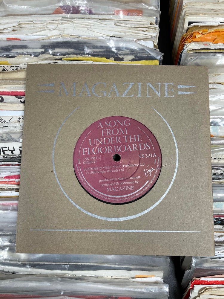 Image of Magazine-A Song From Under The  Floorboards b/w Twenty Years Ago deadstock 7""