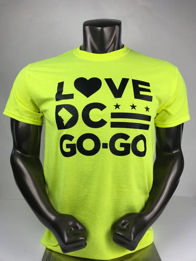 Image of Love DC Go-Go - Helicopter Tshirt
