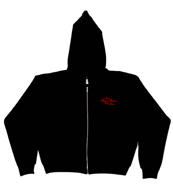 Image of FROM BLACK MOTHERS WITH LOVE 14oz ZIP