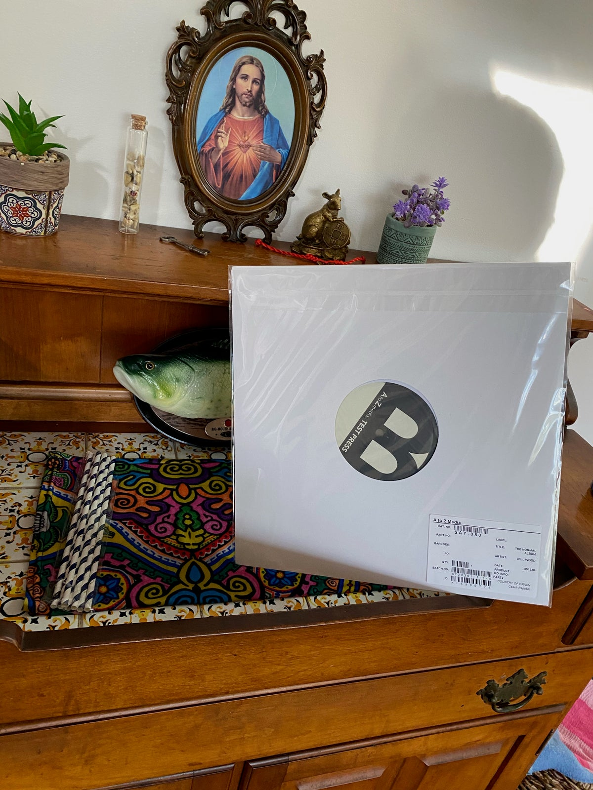 ONE OF A KIND: WILL'S PERSONAL NORMAL ALBUM TEST PRESSING [SIGNED]