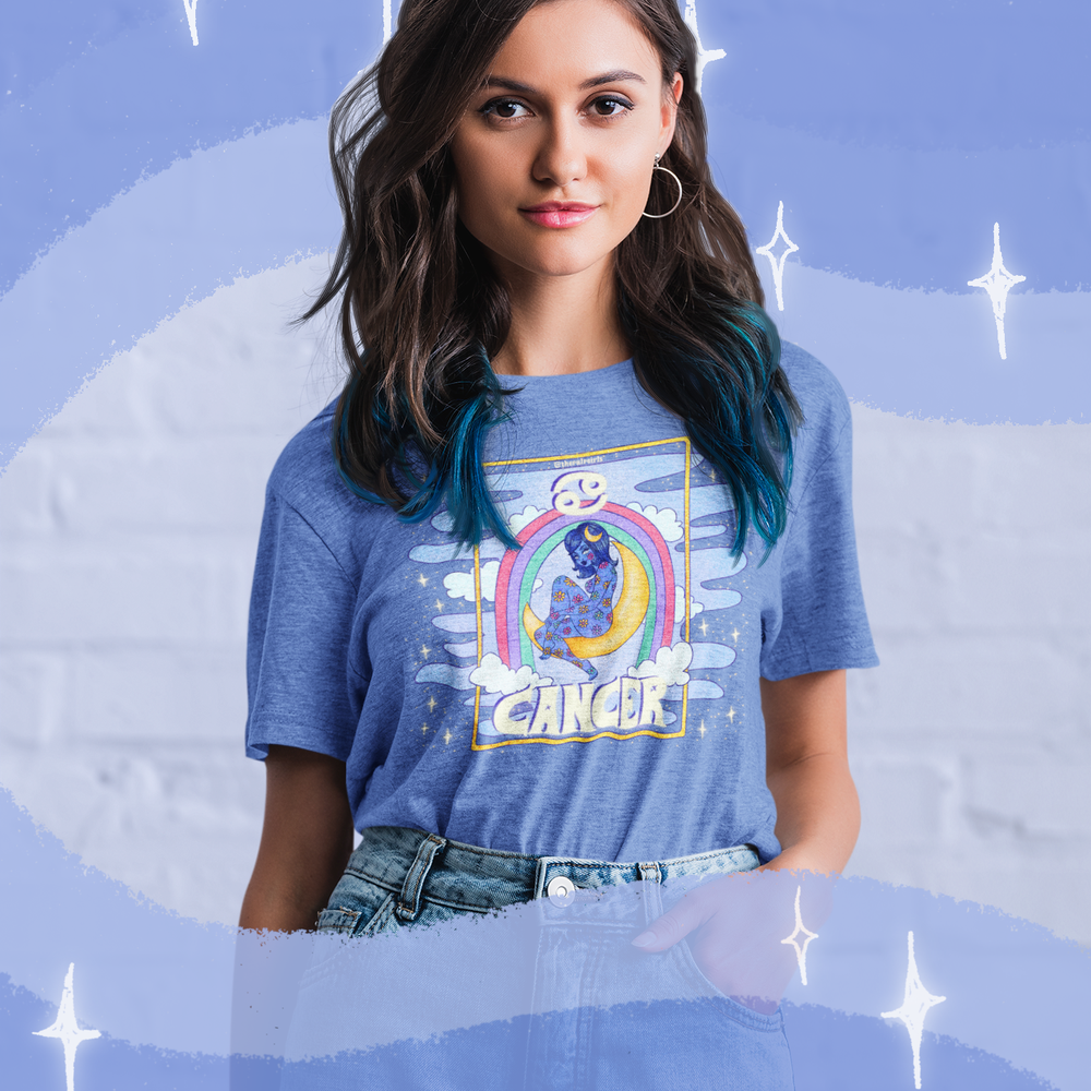 Image of CANCER PULP ASTROLOGY TEE