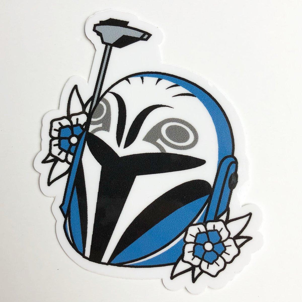Image of 'Bo-Katan' Sticker