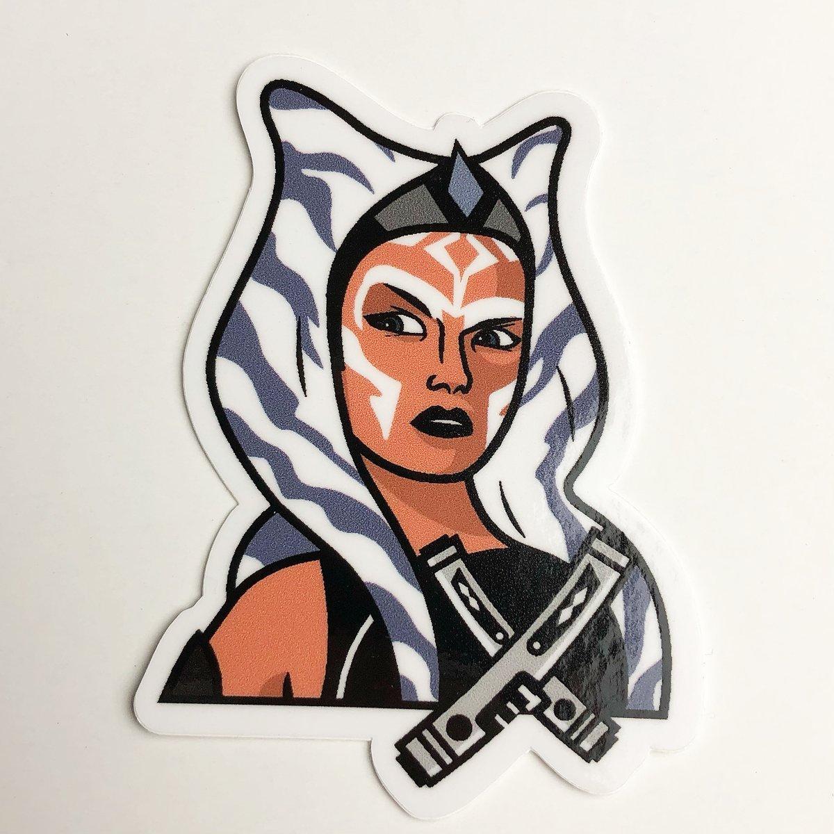 Image of 'Rebels Ahsoka' Sticker