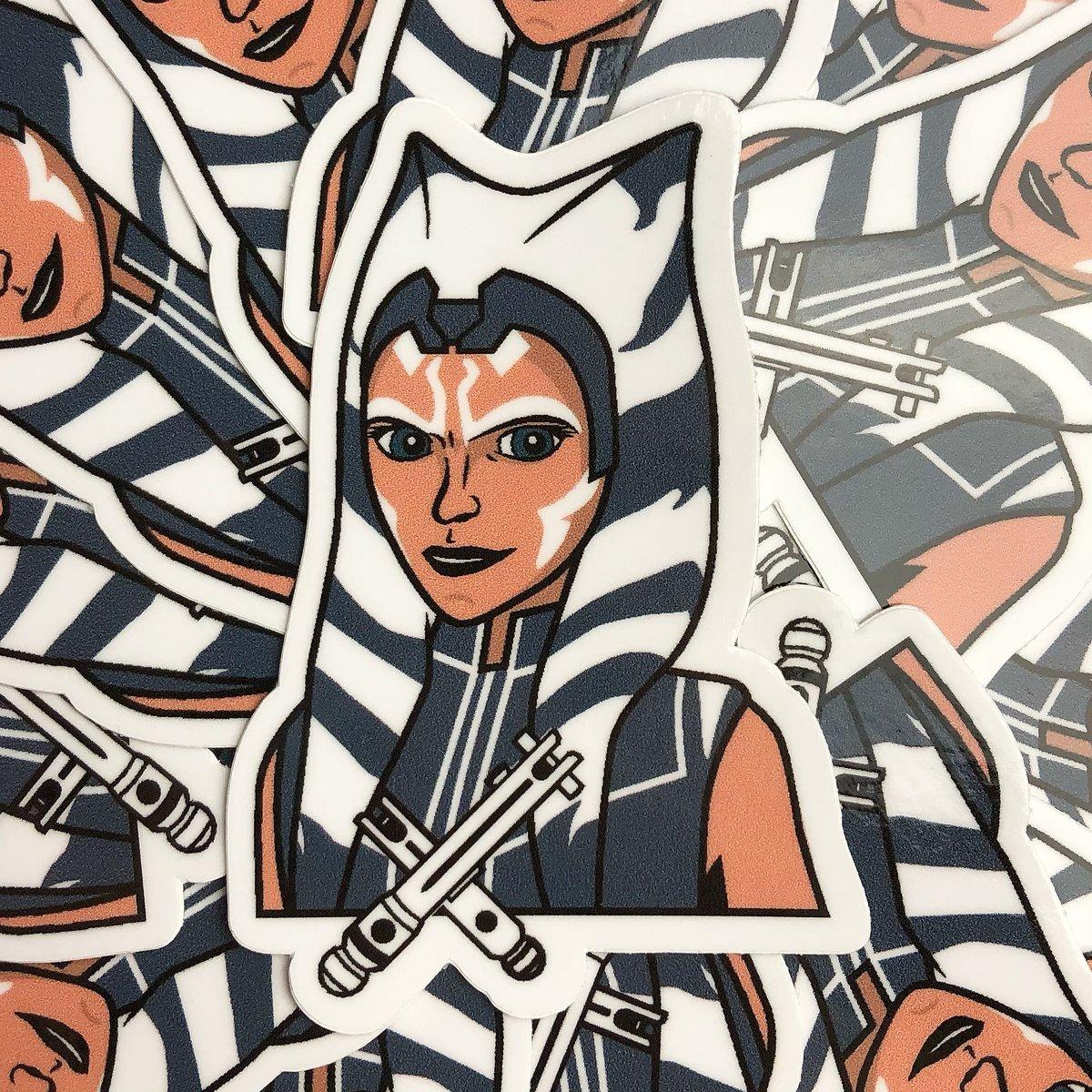 Image of 'Clone Wars Ahsoka' Sticker