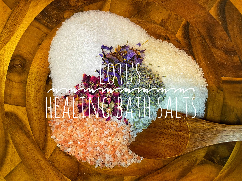 Image of Blue Lotus/Ylang Ylang Bath Soak