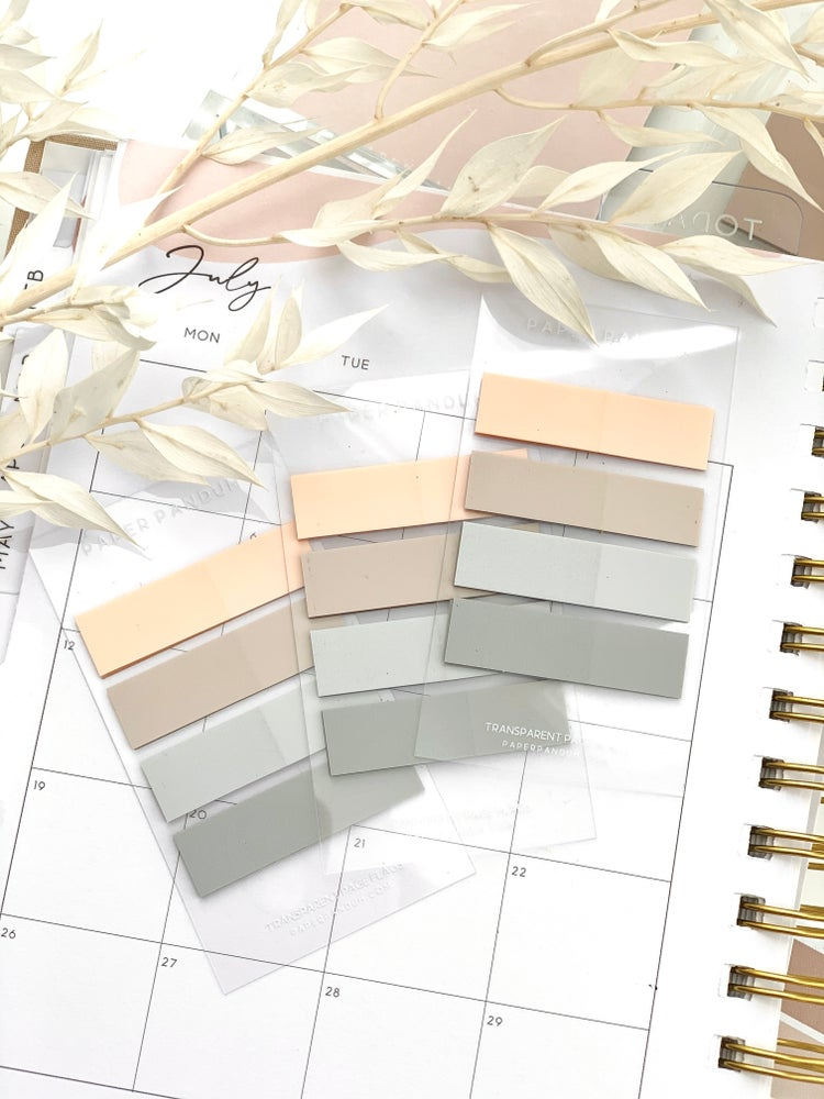 Image of Neutral Page Flag Set