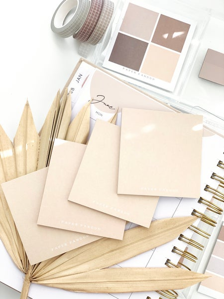 Image of Simple Nude Sticky Notes