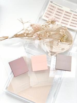 Image of Mini Square Transparent Sticky Notes