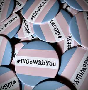 """3"""" #IllGoWithYou Buttons"""