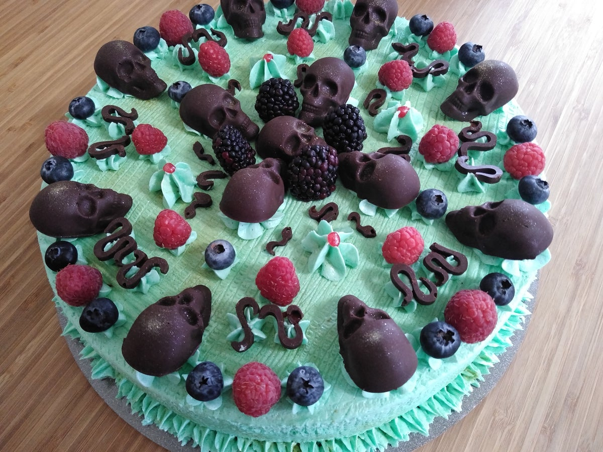 DELIVERY ONLY: Special Edition Choco-Calavera Vegan Tres Leches