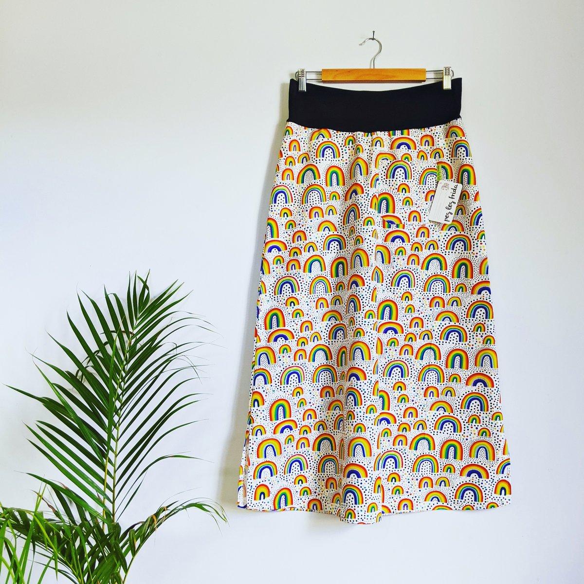 Image of Maxi Skirt - Rainbows