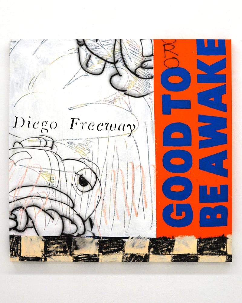 Image of Daniel R. Watkins aka Rad Dan - 'Diego Freeway'. Original artwork 2021