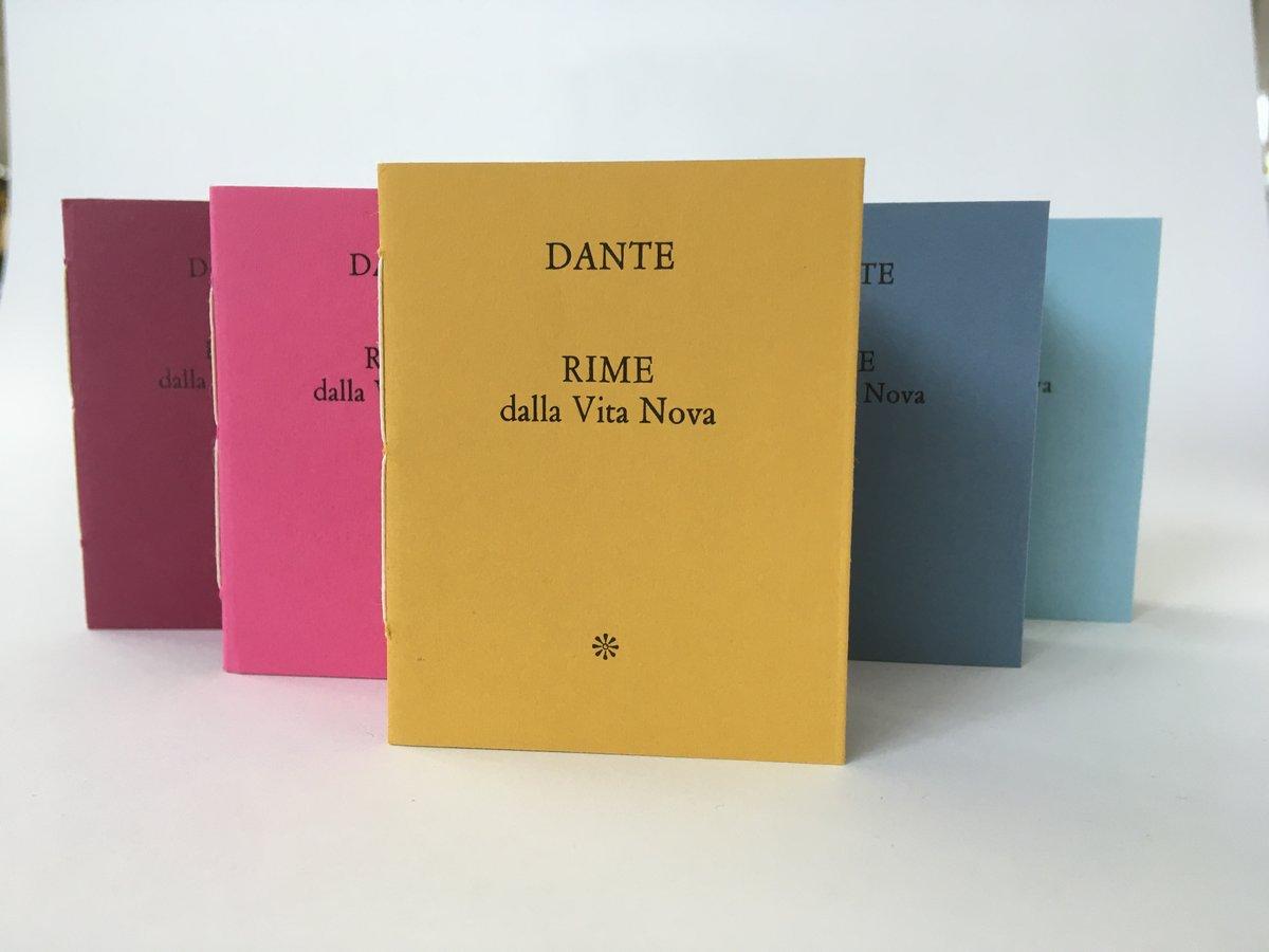 Image of RIME dalla Vita Nova di Dante