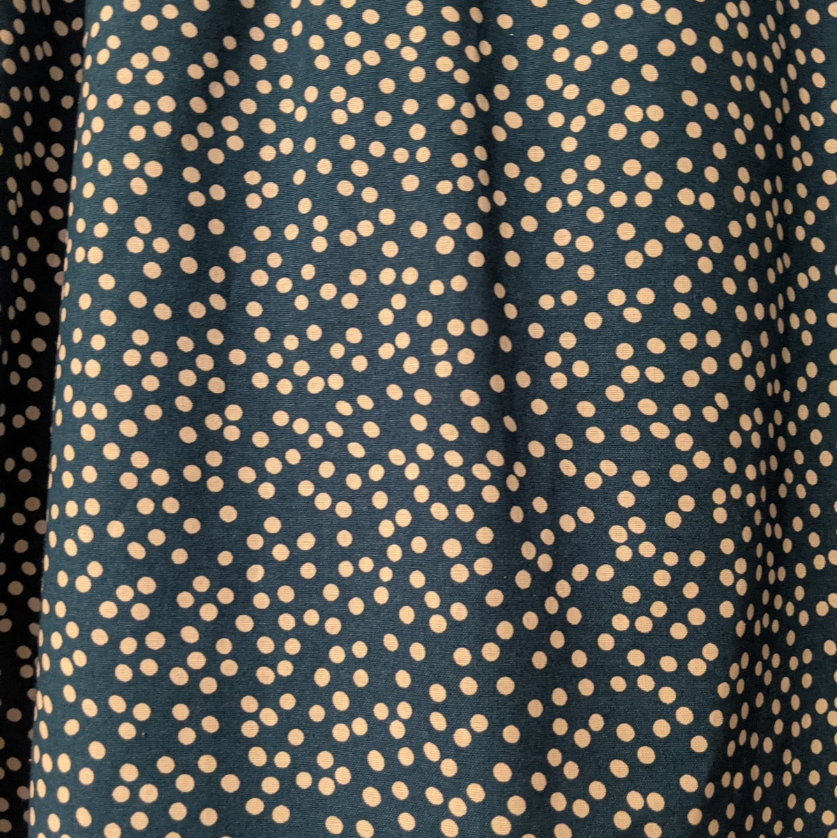 Image of Willow Top - Teal Spot Linen