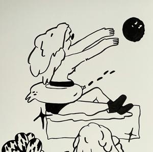 Ink Drawing no. 17