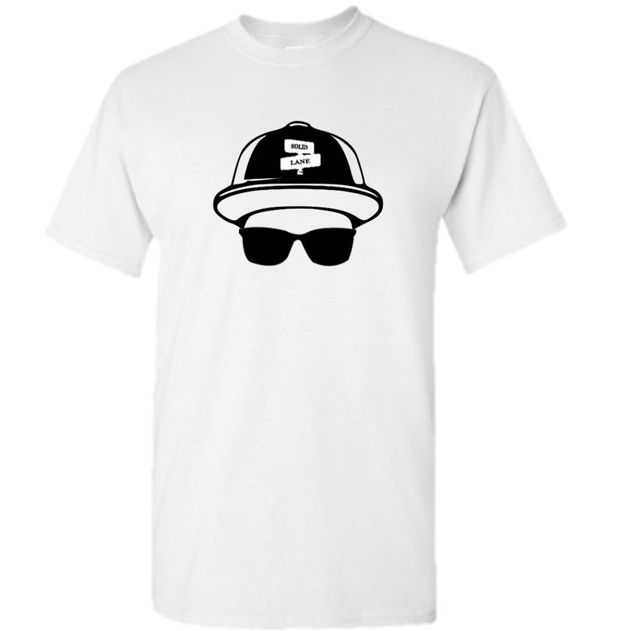 Image of SOLID LANE CAP & LOCS T-SHIRT