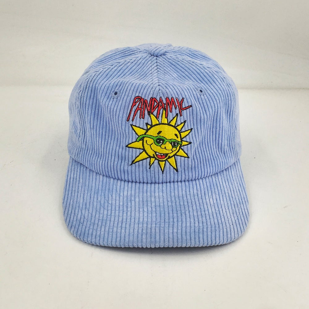 Image of Blue Cord Bus Hat   *LIMITED PRE-ORDER*