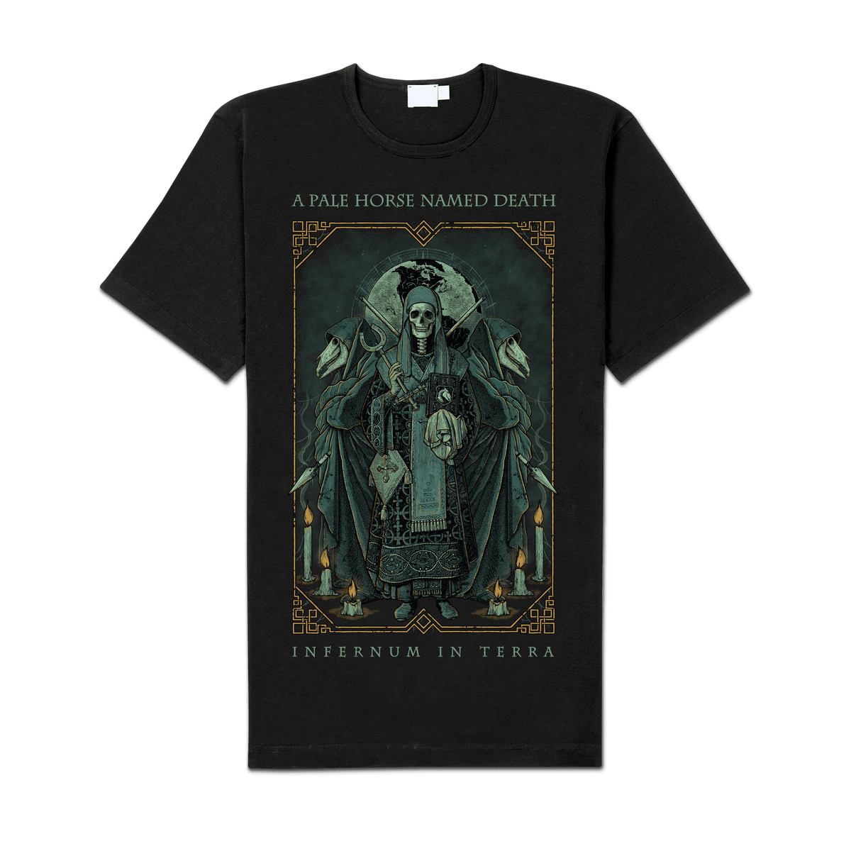 """Image of A Pale Horse Named Death """"Death"""" Shirt"""