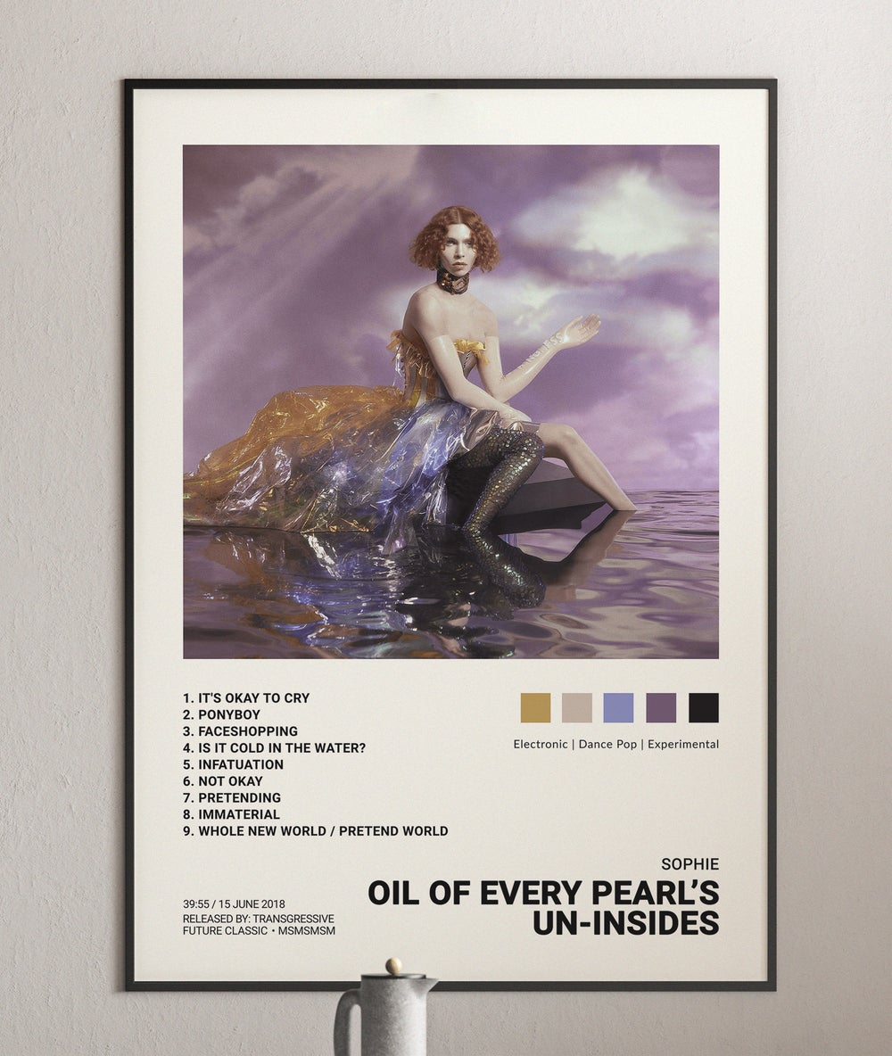 Sophie - Oil of Every Pearl's Un-Insides Album Cover Poster