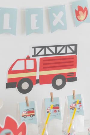 Image of Pack imprimible bomberos