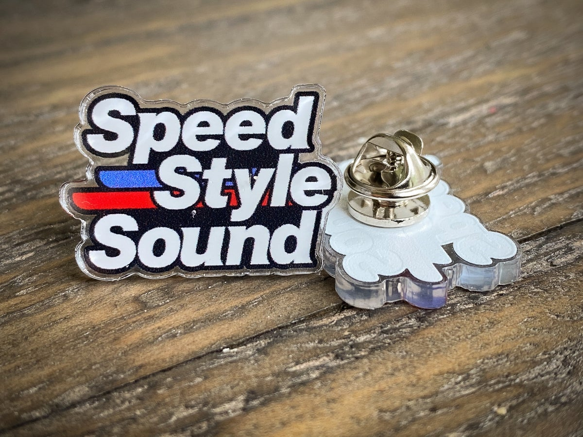 Image of Pin - Speed Style Sound