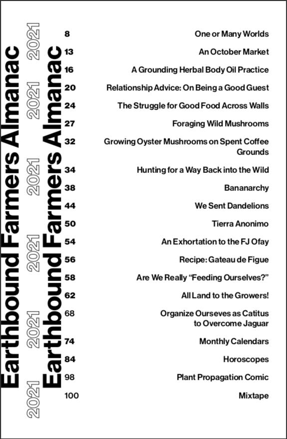 Image of Earthbound Farmer's Almanac