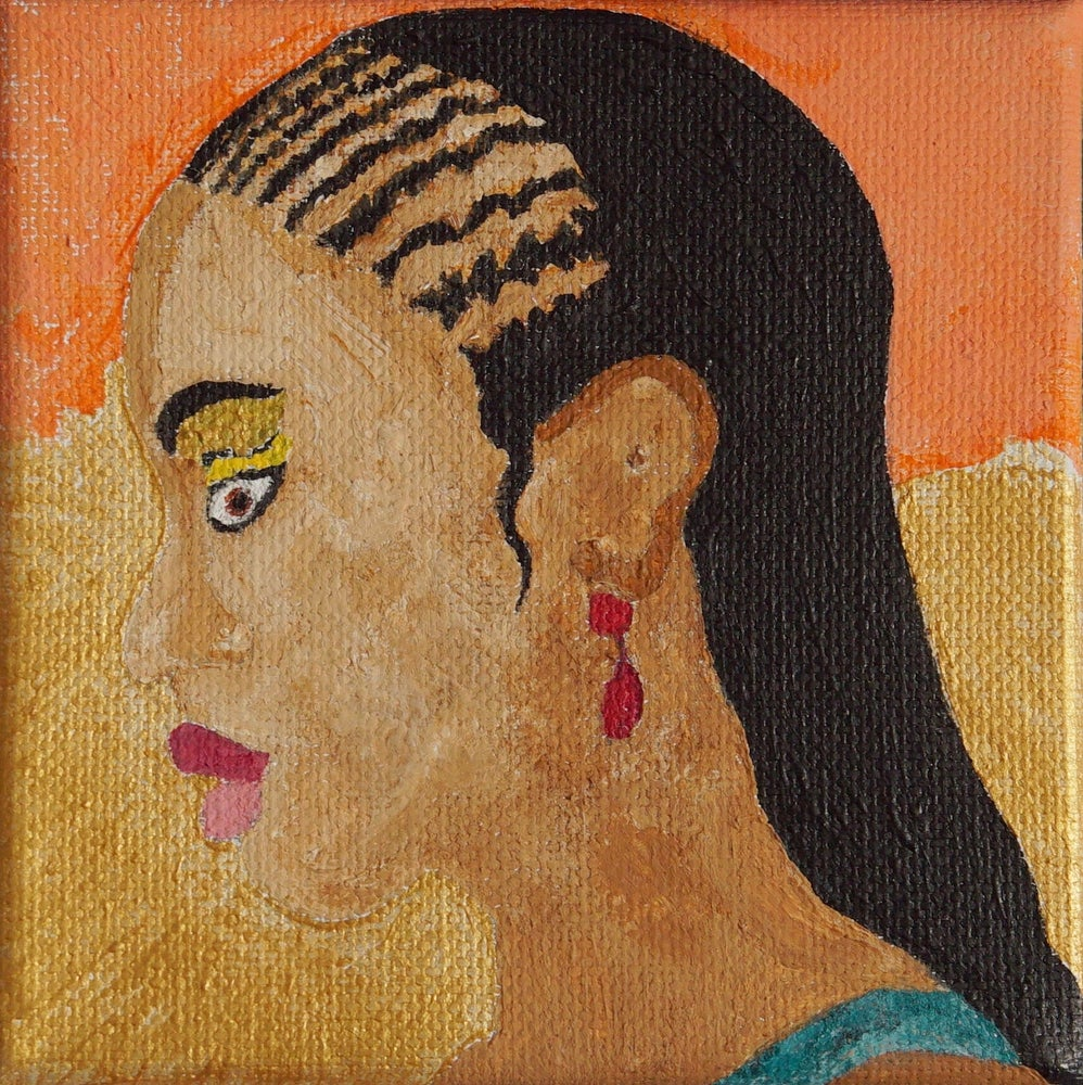 Image of Girl with the Red Earring