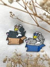 Cheese Cats - Enamel Pin