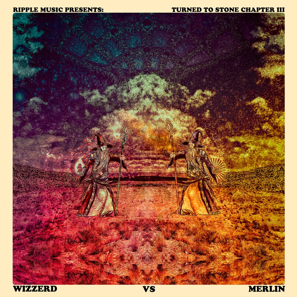 Image of TURNED TO STONE Ch. III - Wizzerd vs. Merlin Deluxe Vinyl Editions