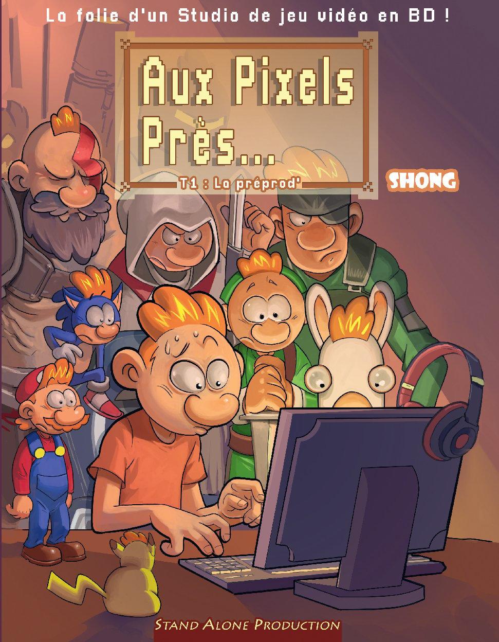 Image of Aux Pixels près...