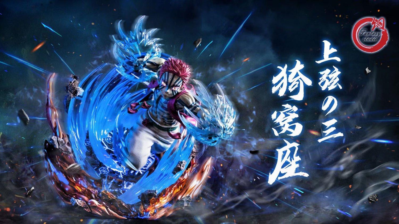 Image of [Hot Sale][Pre-Order]Demon Slayer Akaza 1:6 Resin Statue