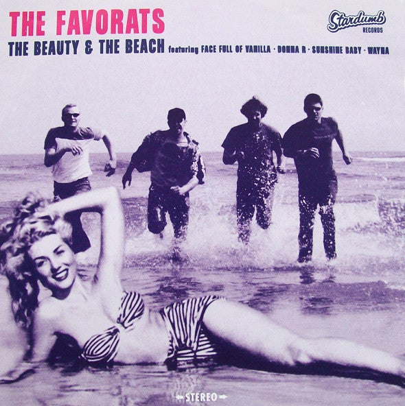 """The Favorats – The Beauty & The Beach (7"""")"""