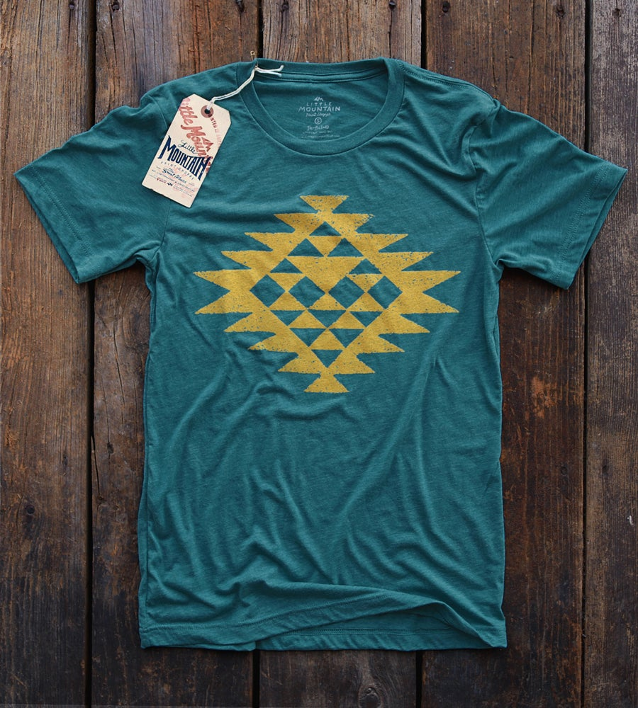 Image of Native Pattern | Teal