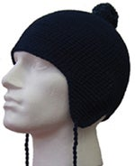 Image of 100% Organic Unisex Beannie with Bobble