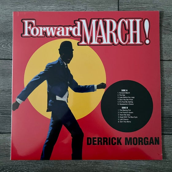 Image of Derrick Morgan - Forward To March Vinyl LP