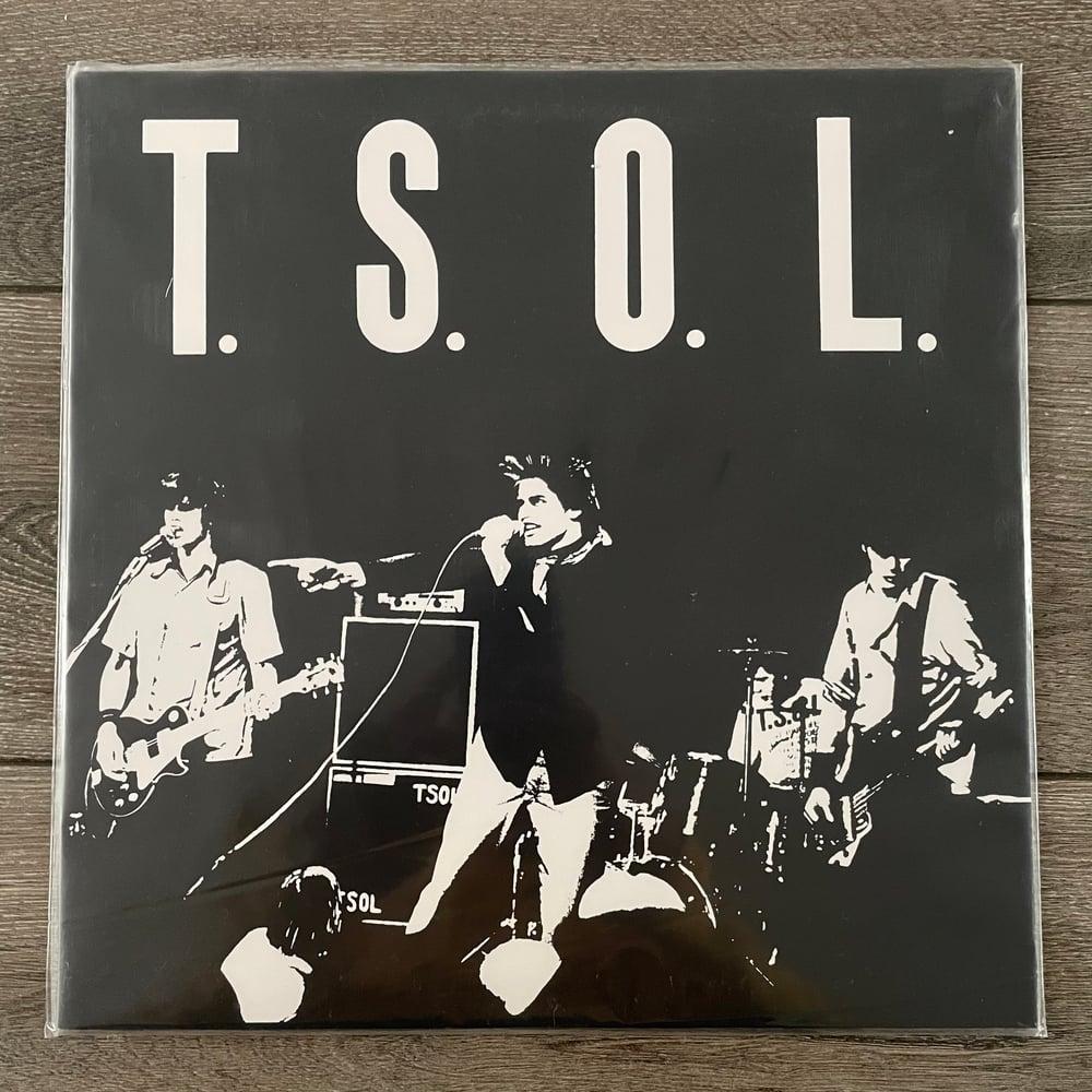 Image of T.S.O.L. - Self Titled Vinyl LP
