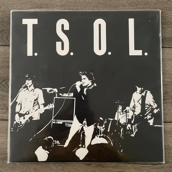 Image of T.S.O.L. - Self Titled Vinyl LP
